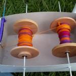 3draads wol met zijde